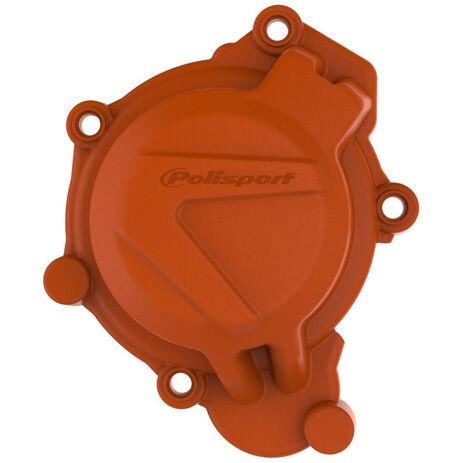 _KTM SX 125/150 16-18 Husqvarna TC 125 17-18 Ignition Cover Protector Orange | 8464100002 | Greenland MX_