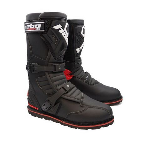 _Hebo Trial Technical Evo 2.0 Micro Boots Black | HT1013N | Greenland MX_
