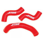 _Jitsie Trial Beta Evo 2T 09-17 Radiator Hose Red | JI109-4540R | Greenland MX_