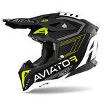 _Airoh Aviator 3 Primal Carbon 3K Helmet | AV3P31 | Greenland MX_