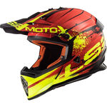 _LS2 MX437 Fast Helmet Gator Red | 404372932 | Greenland MX_
