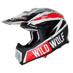_Shiro MX-912 Replica Wild Wolf Helmet   000694WWP   Greenland MX_