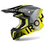 _Airoh Twist 2.0 Bit Helmet Yellow   TW2BI31   Greenland MX_