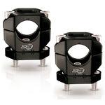_S3 Aluminium Handlebar Clamp 28 mm Black | HA-CL13-BK | Greenland MX_