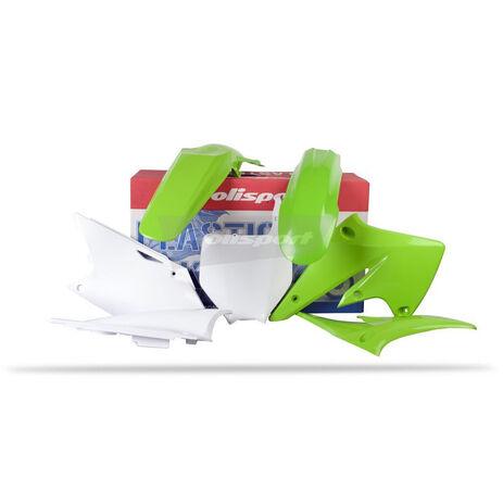 _Polisport Kawasaki KX 250 F 04-05 Plastic Kit | 90091 | Greenland MX_