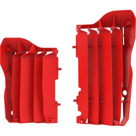 _Polisport Radiator Louver Kit Honda CRF 450 R/X 17-18 Red | 8462900002 | Greenland MX_