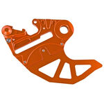 _4MX KTM EXC/SX 04-12 Rear Brake Disc Guard Orange | 4MX-RBDG-02OR | Greenland MX_
