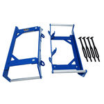 _4MX KTM SX/SX-F 16-.. EXC/EXC-F 17-.. Radiator Protection Blue | 4MX-RG1000722-BL | Greenland MX_