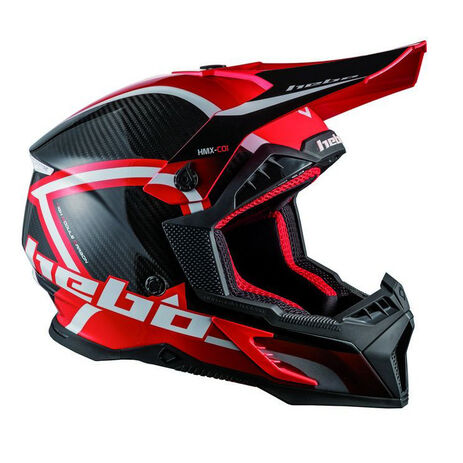 _Hebo MX Legend Carbon Helmet | HC0550R | Greenland MX_