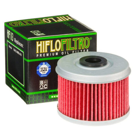 _Hiflofilto Honda TRX 250 85-87 Oil Filter   HF113   Greenland MX_