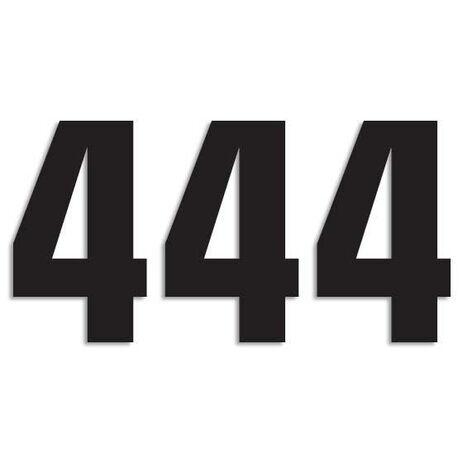 _Blackbird Vinyl Numbers # 4 Black (16 x 7,5 cm)   5048-20-4   Greenland MX_