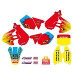 _Tecnosel Decal Kit + Seat Cover Replica Team Suzuki 1999 RM 125/250 99-00   83V03   Greenland MX_