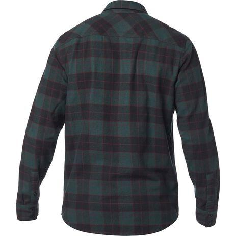 _Fox Traildust Flannel Shirt Emerald | 23826-294 | Greenland MX_