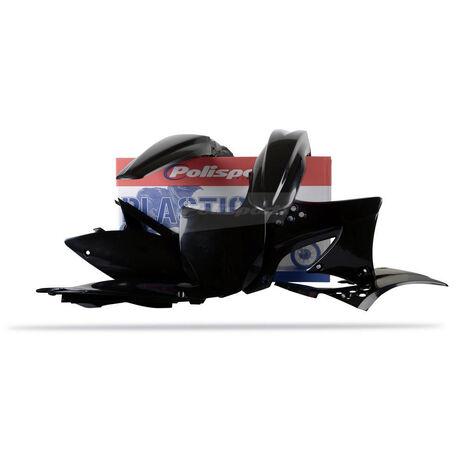 _Polisport Kawasaki KX 450 F 09-11 Plastic Kit Black   90218   Greenland MX_