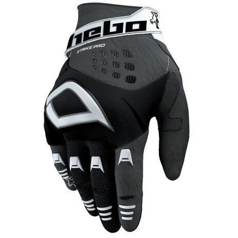 _Hebo Strike Pro Gloves Black | HE1237N | Greenland MX_