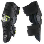 _Alpinestars SX-1 Knee Guards Black | 6506316-104 | Greenland MX_
