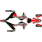 _Gas Gas MC/MC-F 21-.. Full Sticker Kit Troy Lee | SK-GGMCTRO21RO-P | Greenland MX_