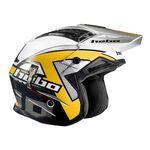 _Hebo Zone 4 Kontrox Trial Helmet Yellow   HC1025Y   Greenland MX_