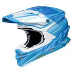 _Shoei Helmet VFX-WR Zinger TC-2 | VFXWRZTC20 | Greenland MX_