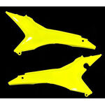 _Honda CRF 250 R 14-16 CRF 450 13-16 EU Airbox Filter Covers Yellow Fluor | 0016892.061 | Greenland MX_