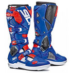 _Sidi Crossfire 3 SRS Boots White/Blue/Red | BSD314500 | Greenland MX_
