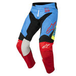 _Alpinestars Racer Supermatic 2018 Youth Pants Blue/Black/Red | 3741518-7113-P | Greenland MX_