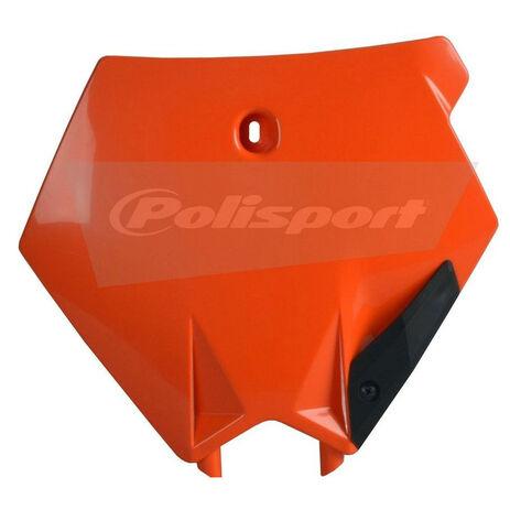 _Polisport KTM SX/SXF 03-06  front plate orange   8660900002   Greenland MX_