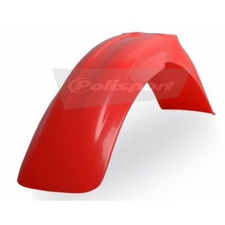 _Polisport Honda CR 125/250 R 90-99 Front Fender Red Fluor   8591000010   Greenland MX_