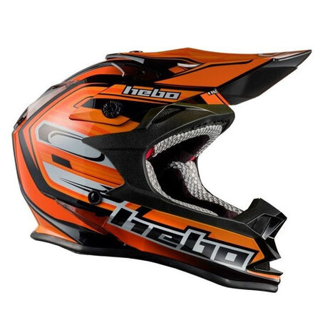_Hebo MX Konik Helmet Orange | HC0618T | Greenland MX_