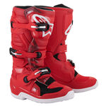 _Alpinestars Tech 7S Youth Boots Red   2015017-30   Greenland MX_