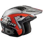 _Hebo Zone 4 Kontrox Trial Helmet Red | HC1025R | Greenland MX_