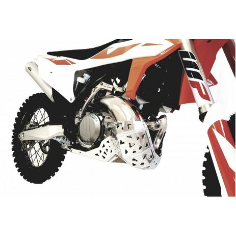 _P-Tech P-Tech Skid Plate with Exhaust Pipe Guard KTM EXC 250/300 20-..HVA TE 250/300 20-.. | PK016 | Greenland MX_