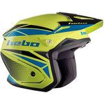 _Hebo Zone 5 Svan Trial Helmet Lime | HC1116LM | Greenland MX_