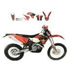 _Blackbird KTM EXC 14-16 SX/SX-F 13-15 Graphic Kit | 2538L | Greenland MX_