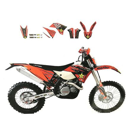 _Blackbird KTM EXC 14-16 SX/SX-F 13-15 Graphic Kit | 2538L | Greenland MX_