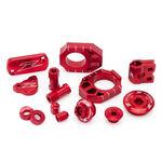 _Zeta Racing Honda CRF 250 L 12-17 Aluminum Accessories Kit Red | ZE51-2072 | Greenland MX_