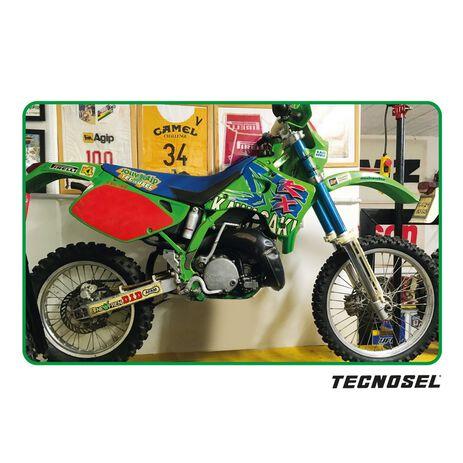 _ Tecnosel Seat Cover Replica Team Kawasaki 1993 KX 125/250 92-93   14V00   Greenland MX_