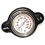 _Radiator Cap 4MX 1.8 Black Japanesse/KTM/HUSQ 17-19 | 4MXT18BK | Greenland MX_