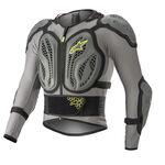 _Alpinestars Bionic Action Protective Jacket Grey/Yellow Fluo | 6506818-9355 | Greenland MX_