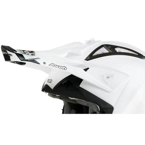 _Replacement Cap Airoh Terminator White Pearl | TC14F | Greenland MX_