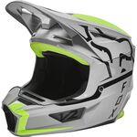 _Fox V2 Merz Helmet Gray | 28033-172 | Greenland MX_