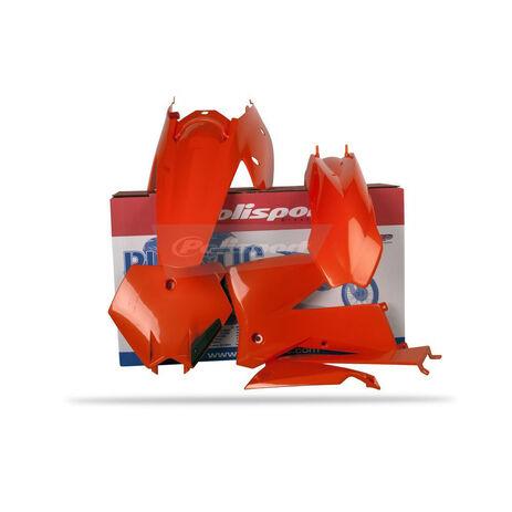 _Polisport KTM SX 05-06 SXF 05-06 EXC 05-07 EXCF 05-07 Plastic Kit | 90103 | Greenland MX_