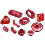_Zeta Racing Honda CRF 250 R 10-17 CRF 450 R 02-16 Aluminum Accessories Kit Red | ZE51-2032 | Greenland MX_