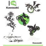 _Kawasaki Kids Tattoo Set   226SPM0017   Greenland MX_