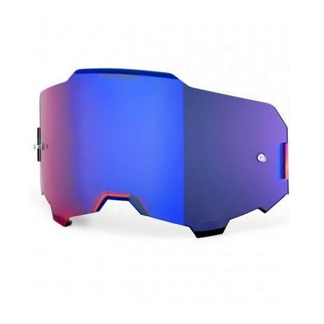 _100% Armega Hiper Lens Blue Mirror   51041-032   Greenland MX_