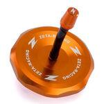 _Zeta Aluminum KTM EXC/EXC-F 11-.. SX 65 10-.. SX/SX-F 125-450 11-12  Gas Cap Orange | ZE87-4208 | Greenland MX_