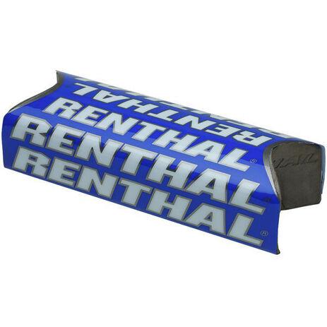 _Renthal fat bar square handlebar pad Blue   P281   Greenland MX_