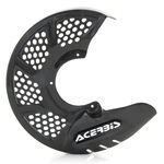 _Acerbis Carbon X-Brake Vented Front Disc Protector Black | 0022705.070 | Greenland MX_