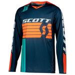 _Scott 450 Podium Jersey Blue/Orange | 2686111454-P | Greenland MX_