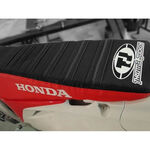 _Tj seat cover with ripples Honda CRF 250 10-13 CRF 450 R 09-12 USA Red-Black | ST0911CRFBTSR | Greenland MX_